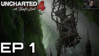 PIRATES & THIEVES - Uncharted 4 Playthrough Ep 1 Prologue & Chapter 1 The Lure Of Adventure