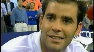 Pete Sampras Andy Roddick 2002 US Open Qtrs
