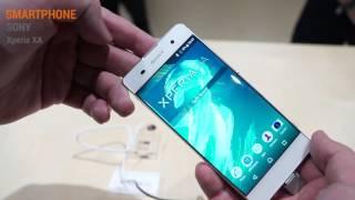 MWC 2016: Sony Xperia XA Hands On Test - Deutsch / German ►► notebooksbilliger.de