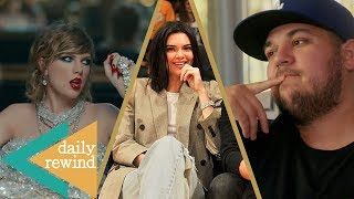 Taylor Swift a CHEATER? Kendall Jenner Stands By Her Man, Rob Kardashian Weight Loss Surgery -DR