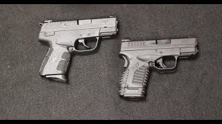 Springfield XDE vs XDS