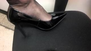 New pumps. I need a shoe slave. Come on...