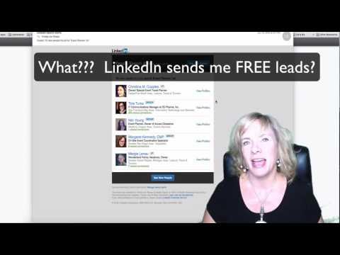 Saving a Search on LinkedIn