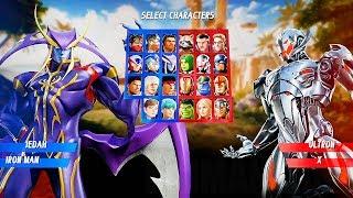 Marvel vs Capcom: Infinite - Jedah & Gamora Gameplay Reveal @ (60ᶠᵖˢ) HD ✔