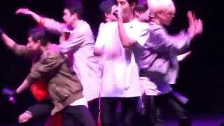 [FAN CAM] 150510 GOT7 Dallas FM - Mark's rap during Girls Girls Girls