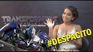 Isabela Moner te invita a ver Transformers al ritmo de DESPACITO...