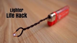 3 Incredible Life Hacks with Lighters ! (Creative Life)