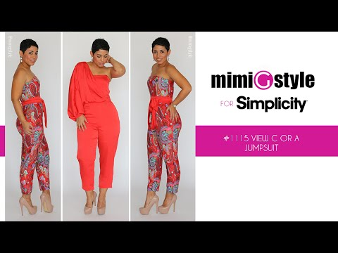 Xxx Mp4 How To Sew The Mimi G Style For Simplicity Pattern 1115 Tutorial View A Or C Jumpsuit 3gp Sex