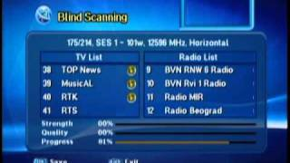 SES 1   scanning this Satellite  Canales Gratis   Free to Air Channels