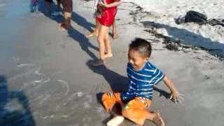 video jovita lagi mandi di pantai romance2016 18 10