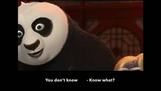 Learn/Practice English with MOVIES (Lesson #34) Title: Kungfu Panda