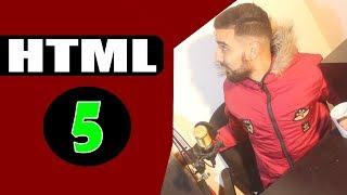 كورس سهل لتعلم HTML للمبتدئين الفيديو الخامس  || Explication de  langage HTML
