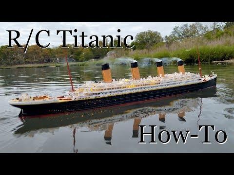R/C Titanic Model: How It's Made