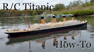 R/C Titanic Model: How It