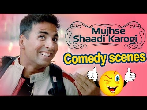 All Comedy Scene of Mujhse Shaadi Karogi Salman Khan Akshay Kumar Priyanka Chopra