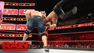 John Cena vs. Elias: Raw, Dec. 25, 2017