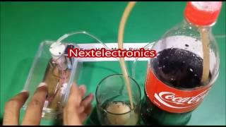 Homemade Electronic Soda Dispenser