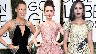 Mandy Moore Lily Collins Kerry Washington: Best Dressed at the 2017 Golden Globes!