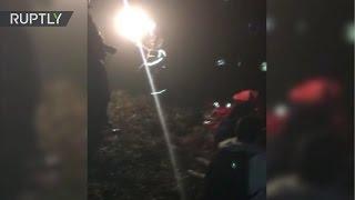 Primeras imágenes del accidente de avión del club de fútbol Chapecoense