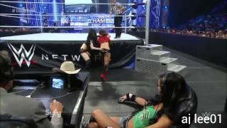 WWE Smackdown Paige vs Nikki Bella September 19,2014