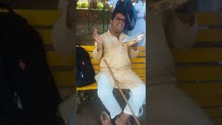 sili sili aundi ae hawa sing by a blind man from jammu...