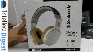 The Best Budget Bass Headphones- Skullcandy Crusher Wireless Unboxing & Hands On Review