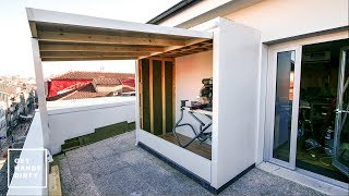 Building a Shed with a Green Roof: The Outer Shell