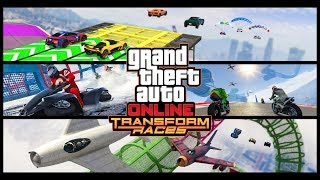 New TRANSFORM RACES (GTA Online Thanksgiving Week Live Stream)