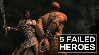 Skyrim - 5 Failed Heroes