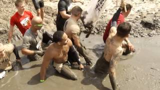 John Dodson Runs with the Wounded Warrior Project Team at Tough Mudder