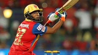 Sarfaraz 35 of 10 Balls Video IPL 2016 Vs SunRisers SRH