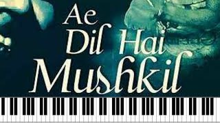 Ae Dil Hai Mushkil – C I D | Old Hindi Song Piano Cover