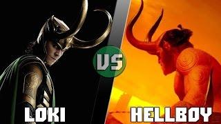 ЛОКИ vs ХЭЛЛБОЙ/LOKI (Marvel) vs HELLBOY (Dark Horse) - Кто Кого? [bezdarno]