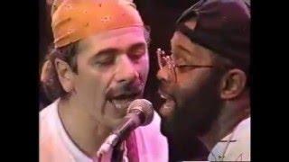 Tony Lindsay Live with Carlos Santana - Oye Como Va - Chester Thompson