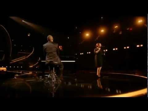 Adele performing Someone Like You BRIT Awards 2011