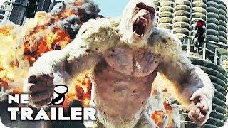 Rampage Trailer (2018) Dwayne Johnson, Jeffrey Dean Morgan Action Movie