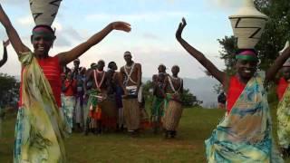 Rwanda Traditional Dancing - Women With Woven Baskets