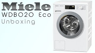 Miele WDB020 Eco - Unboxing