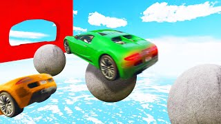 Can You BEAT This IMPOSSIBLE Skillcourse?! (GTA 5 Funny Moments)