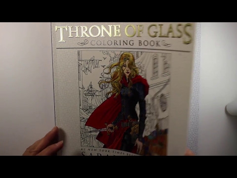 Throne of Glass Coloring Book In-Depth Review