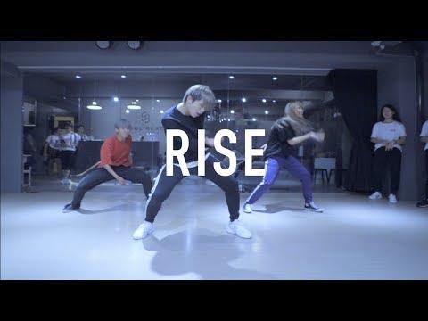 亨利 Henry Lyrical Choreography @ Jonas Blue - Rise  Henry Choeography