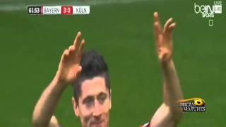 اهداف مباراة بايرن ميونخ وكولن 4 0 كاملة 2015 10 24 عيسى الحربين HD