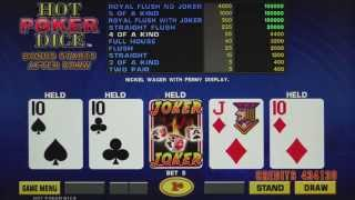 IGT | LAL Hot Poker Dice | Game Play
