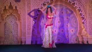 Sadie Marquardt  Drum Solo Belly Dance Festival  2013