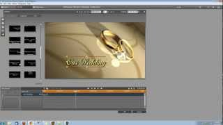 Pinnacle Studio 15 Tutorial- How to Make a Wedding Video Title with Sparks