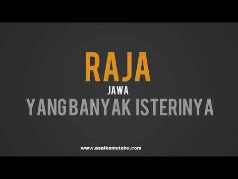 Resep Obat Kuat Raja Jawa