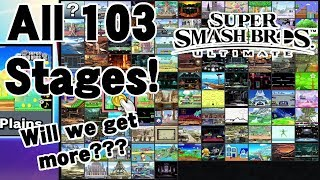 EVERY CONFIRMED & UNCONFIRMED STAGE in Super Smash Bros. Ultimate (Will We Get More???)