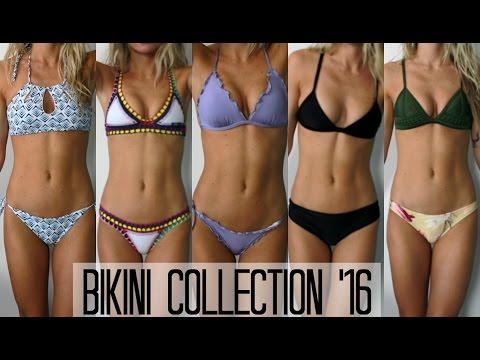 Bikini Collection 2016 + Try On (Sahara Ray, Kiini, Triangl + Victoria's Secret) | allegralouise