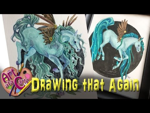 Drawing that Again! Fairy Horse