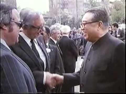 Ким Ир Сен на похоронах Тито